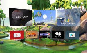 A Google Daydream felülete