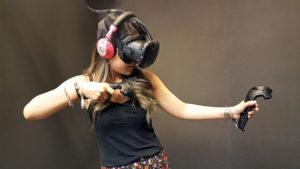 HTC Vive játék közben